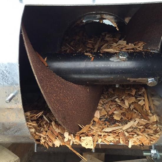 Perry of Oakley biomass augers