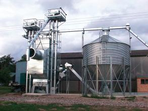 Perry of Oakley 30tph grain drying facility