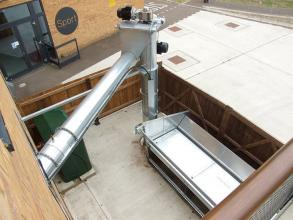 Perry of Oakley Woodchip auger intake