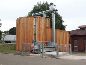 Perry of Oakley Woodchip biomass storage system