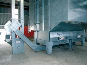 Perry of Oakley dryer unloading conveyors