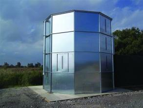 Perry of Oakley biobin biomass storage